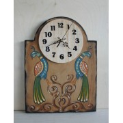 Ξύλινο ρολόι A3