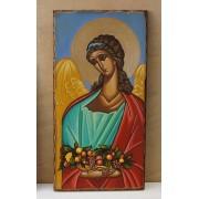 Αγιογραφία σε ξύλo - Άγγελος