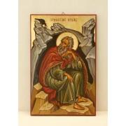 Αγιογραφία σε ξύλο - Προφήτης Ηλίας